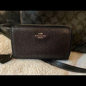 Coach  sparkle wallet
